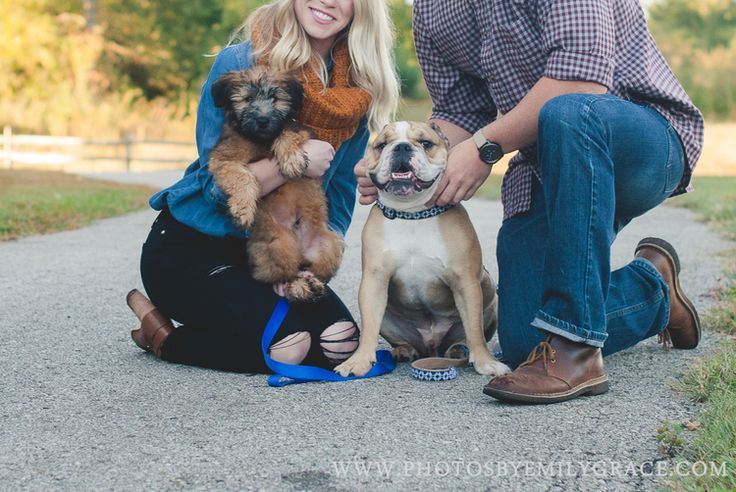 Fall Engagement - #engagement #engaged #kansascity #kc #poses #photography #inspiration #love #couples #ring #dogs #puppy