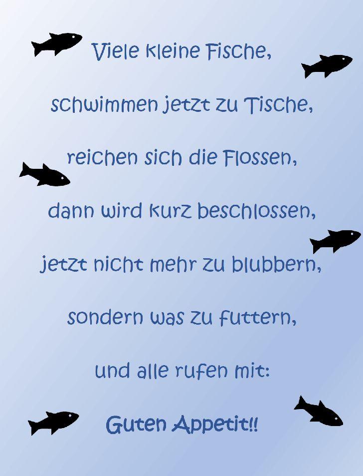 Tischreim: Viele kleine Fische