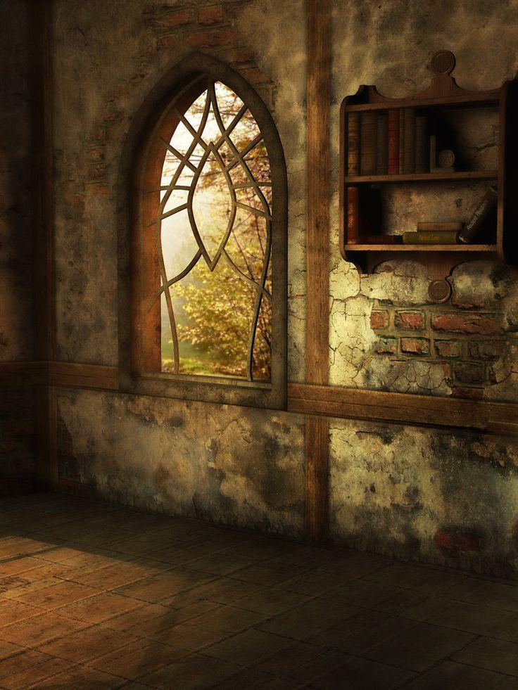 By the window by ~frozenstocks on deviantART