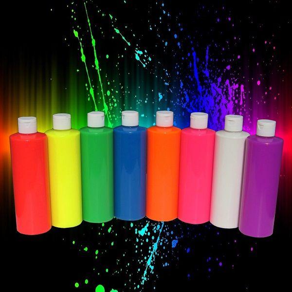 Glow paint party / Pintura fluorescente para fiestas y eventos  Venta de pintura fluorescente neon por mayoreo (base agua)  para fiestas y conciertos  #fiestadepintura #glowpaintparty #pinturaneon #bodypaint #maquillaje #pinturaneon #pinturafluorescenteneon