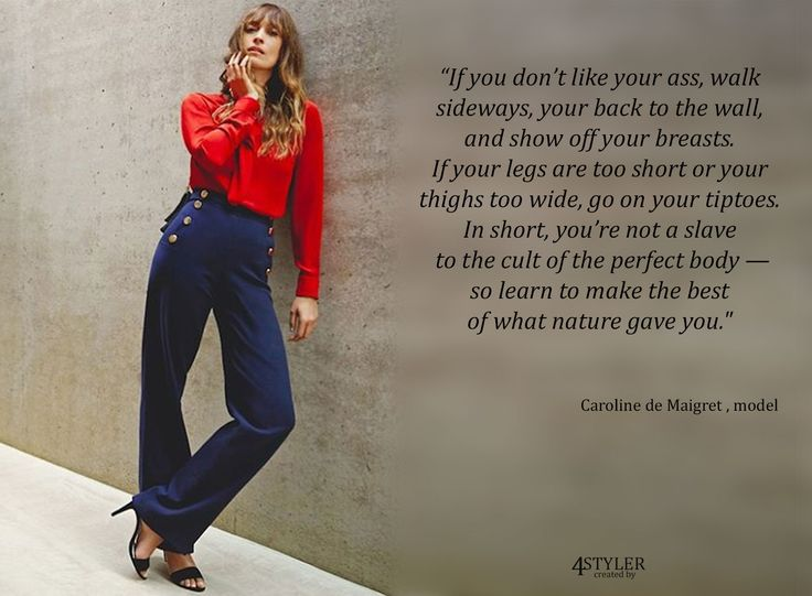 Style Advice #model #runway #catwalk #fashion #show #topmodel #casting #famous #editor #vogue #caroline #maigret #style #quote #tip #advice #Parisian #french #outfit #look #lookbook #ootd #red #shirt #blue #navy #pants #trousers #wide #legs #black #heels #pumps #girl #beauty #hair #long #hairstyle #casual #chick #elegance #effortless #gold #buttons #trend #trendy #stylish #miller #body #perfect #shape #nature #sexy