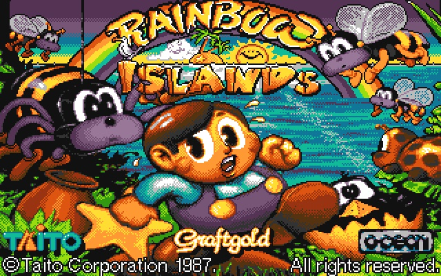 Rainbow Islands (Commodore Amiga)