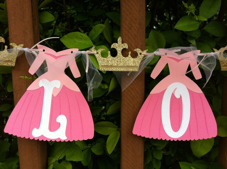 9 Letter 8 Crown Sleeping Beauty Name Banner by TwinMomMade, $37.00