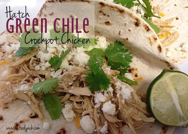 Hatch Green Chile Crockpot Chicken | Recipes | Kate O. Lynch