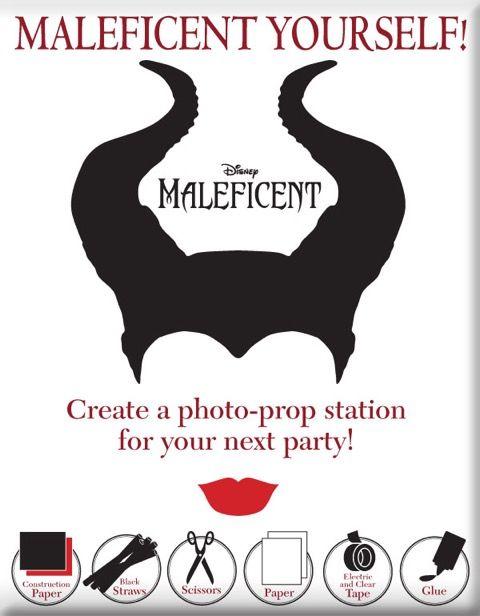 Maleficent Yourself! Perfect fun for Halloween!  http://www.wdistudio.com/MAL/pnt/MAL_malYS.pdf