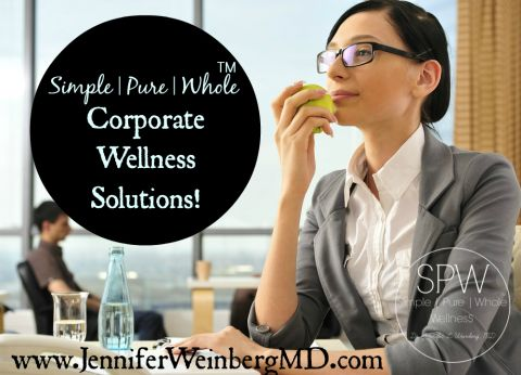 Corporate Wellness | Dr. Weinberg has experience working with large and small companies in the government, nonprofit and for-profit sectors to help them design, implement and evaluate employee wellness, health communication and education programs. She provides individualized corporate wellness consulting and packages for employee wellness and education. Services can be tailored for your company's unique needs.