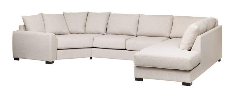 Er det på tide å fornye stua? Finn din nye sofa hos Fagmøbler; velg blant våre flotte modeller eller bygg din helt egen modulsofa.Queen hjørnesofaStoff Surprise B 03