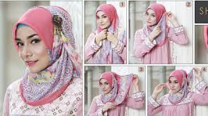 how to wear hijab covering chest - Google Search