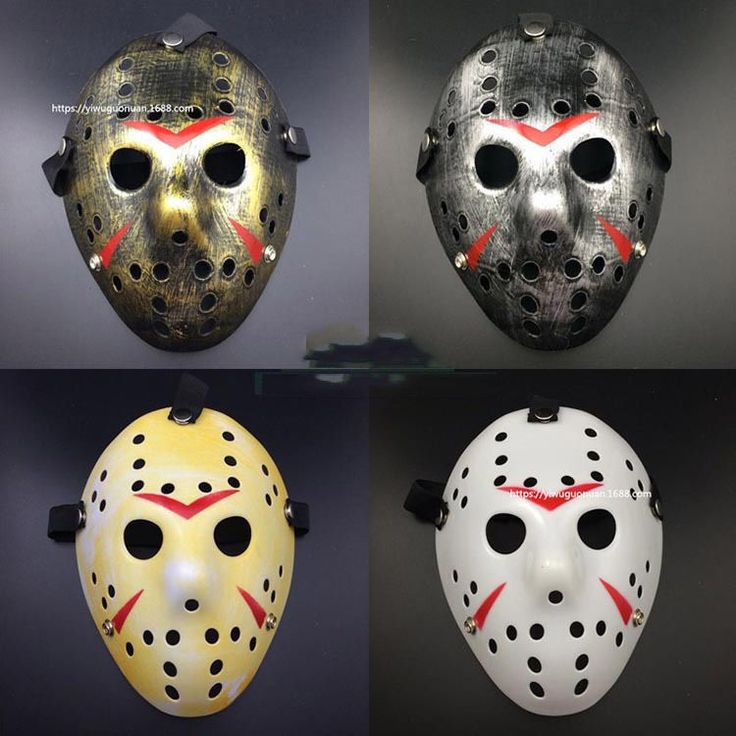 NEW Jason Voorhees Friday the 13th Horror Movie Hockey Mask Scary Halloween Mask PTC 267 //Price: $13.95 & FREE Shipping //     #fashion