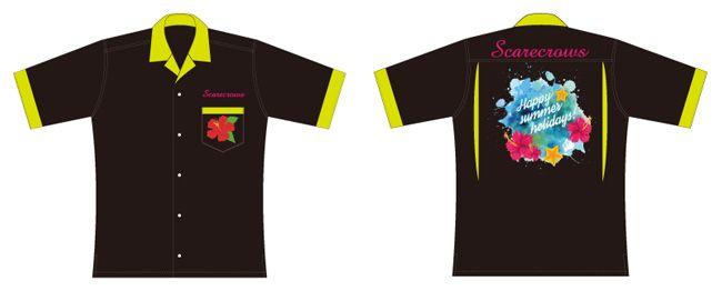 ボーリングシャツ、ハワイアン