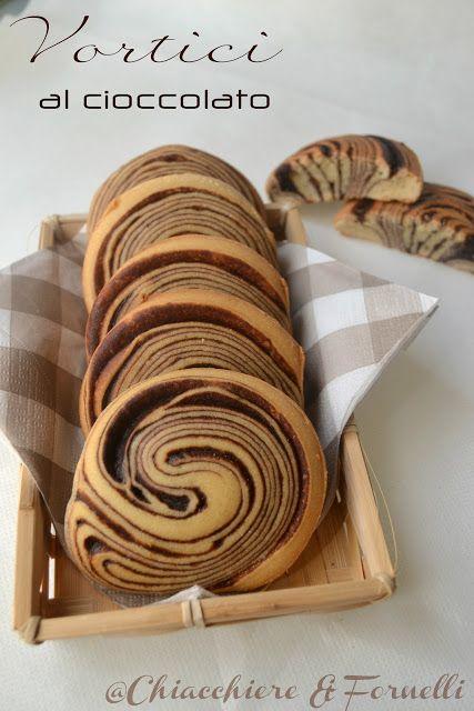 Chiacchiere & Fornelli: Vortici al Cioccolato #italianfood