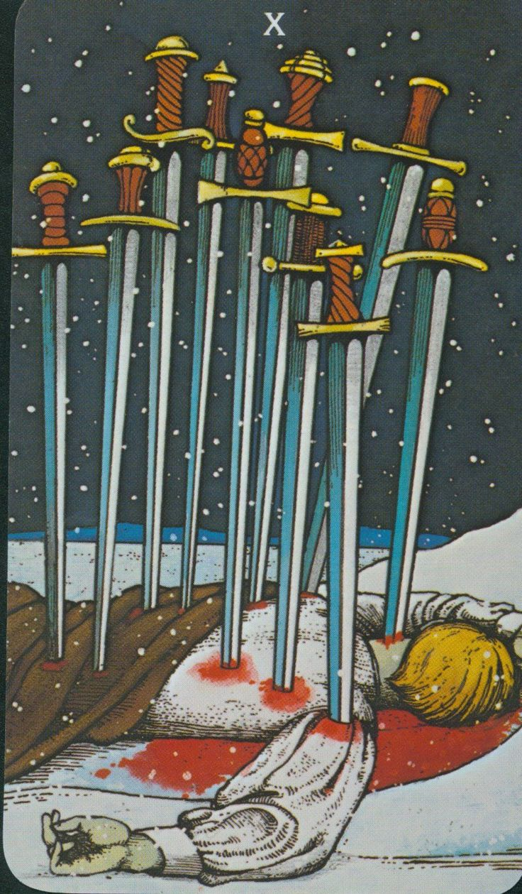 ten of swords - Google Search