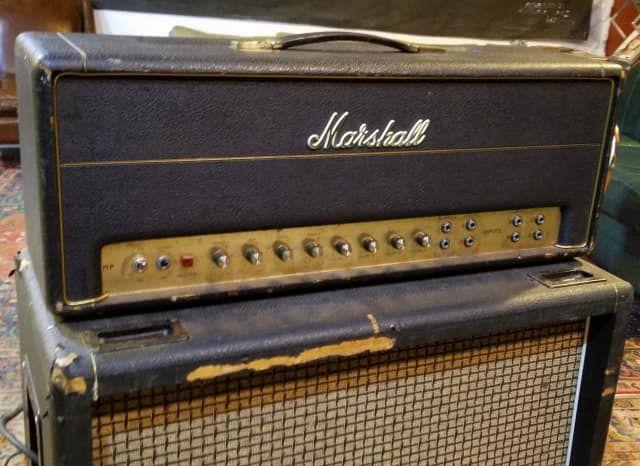 marshall jmp 1959 super lead 2 channel 100 watt guitar amp head 1967 1975 in 2019 foot. Black Bedroom Furniture Sets. Home Design Ideas