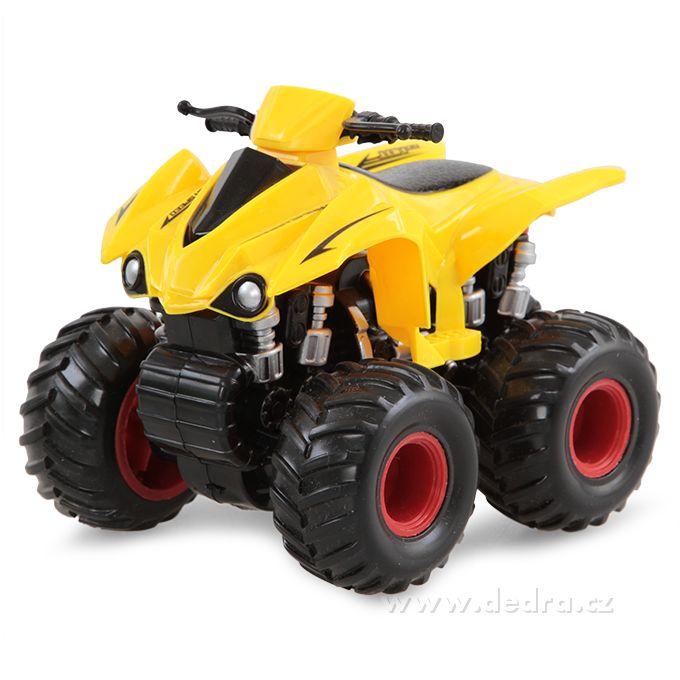 DEDRA - Terénní SUV auto čtyřkolka žlutá
