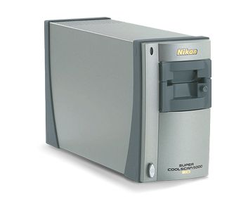 A Nikon Coolscan film scanner.  They don't make these anymore, and there are none like them.