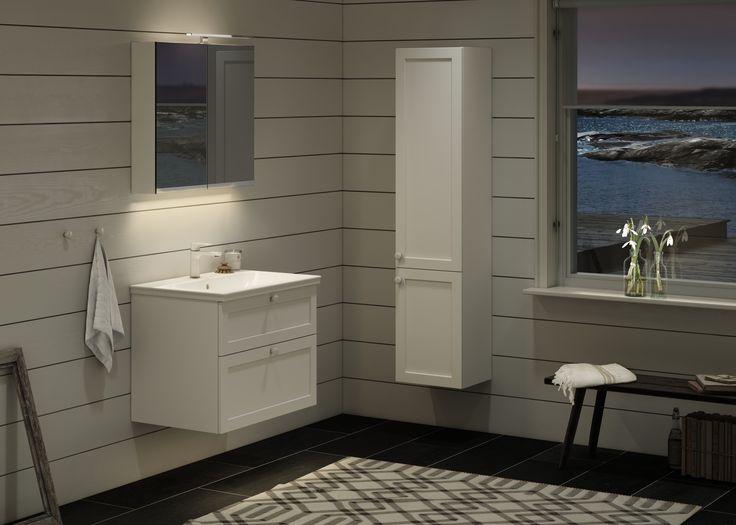 Badrumsförvaring Artic Läckert badrum med produkter från Artic Badrumsinspiration