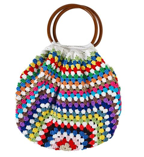 How To Make Crochet Bags And Purses : How to make a crochet bag - Better Homes and Gardens - Yahoo!7
