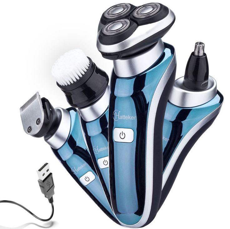 Hatteker in1 Electric Razor for Men Waterproof USB ...