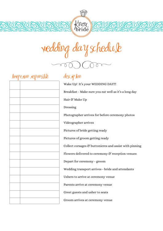 Πάνω από 25 κορυφαίες ιδέες για Wedding day timeline template στο - wedding weekend itinerary template