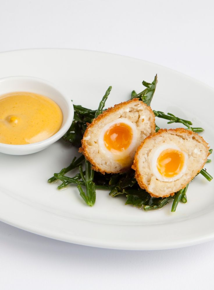 This Scotch egg recipe is a playful twist on the British picnic classic. The aioli Richard Corrigan includes here is fantastic for dipping the finished eggs in, and can be a great accompaniment to sandwiches and other picnic recipes. Smoked cod is readily available in fishmongers.