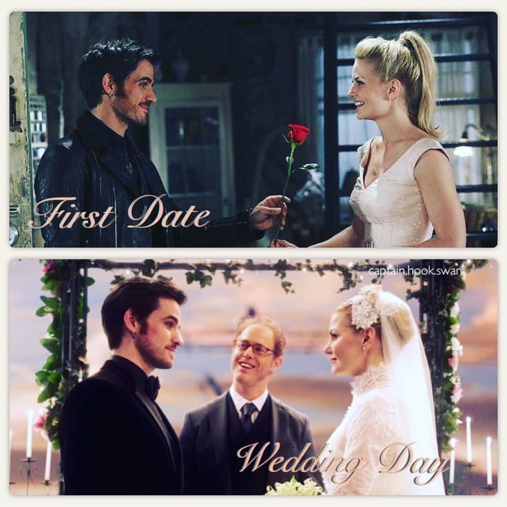 Caption swan first date/Wedding