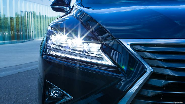 The #Lexus #RX #Hybrid keeps your eyes on the road!