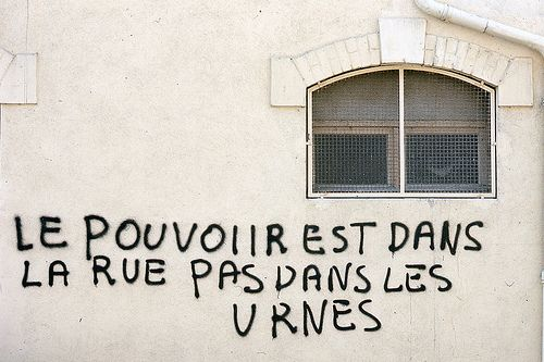 NOSEX - situationist international graffiti from the 1968 paris riots