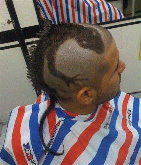 lizard hair cut