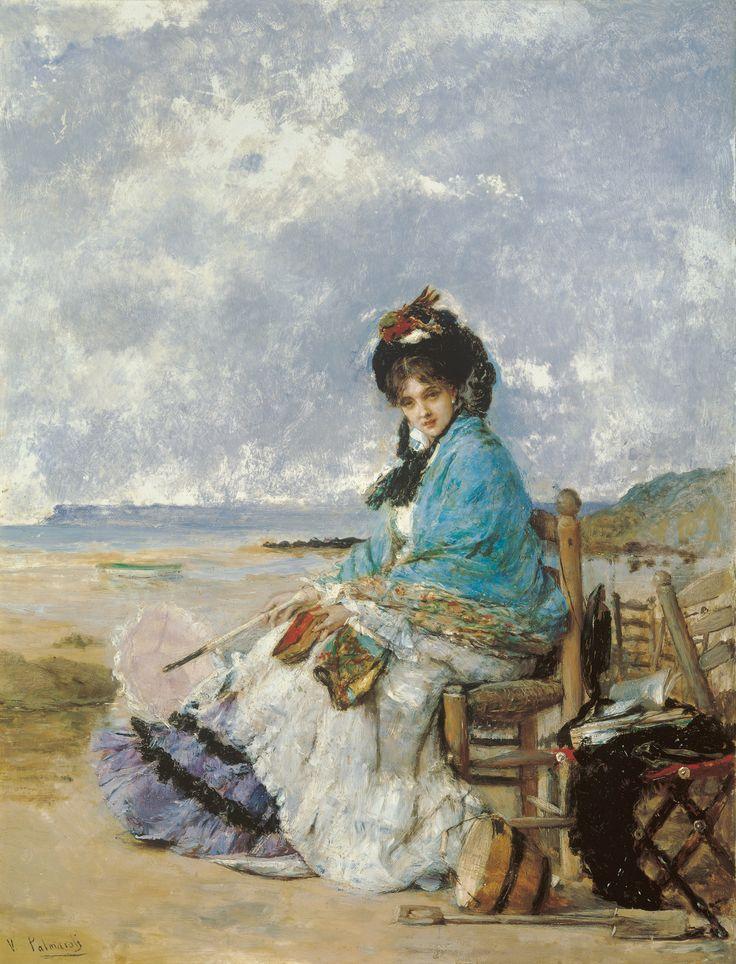 Vicente Palmaroli. Días de verano, s.f. Colección Carmen Thyssen-Bornemisza en préstamo gratuito al Museo Carmen Thyssen Málaga