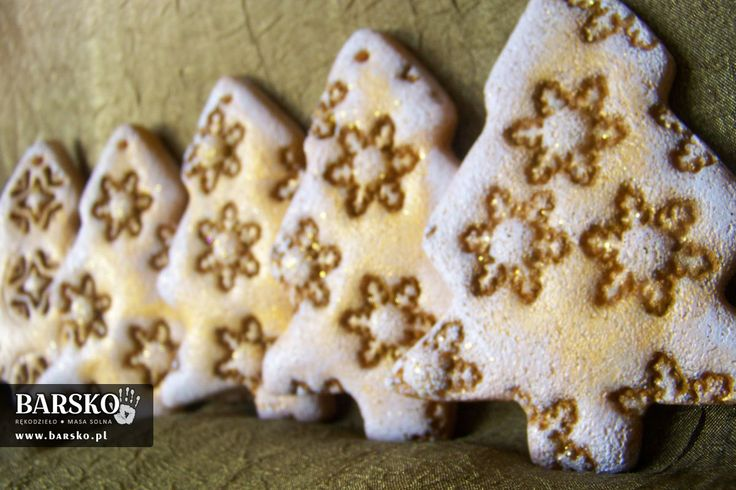 Salt Dough Christmas trees