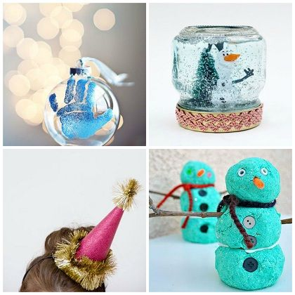 22 Christmas Glitter Crafts | Spoonful
