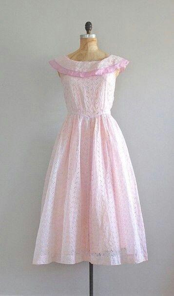 Little pink dress/ vintage