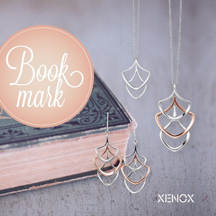 Unser #Lesezeichen für den #Muttertag. Man muss ja irgendwie zeigen, was man sich wirklich wünscht.  #XENOX #necklace #earring #wishlist #lookbook