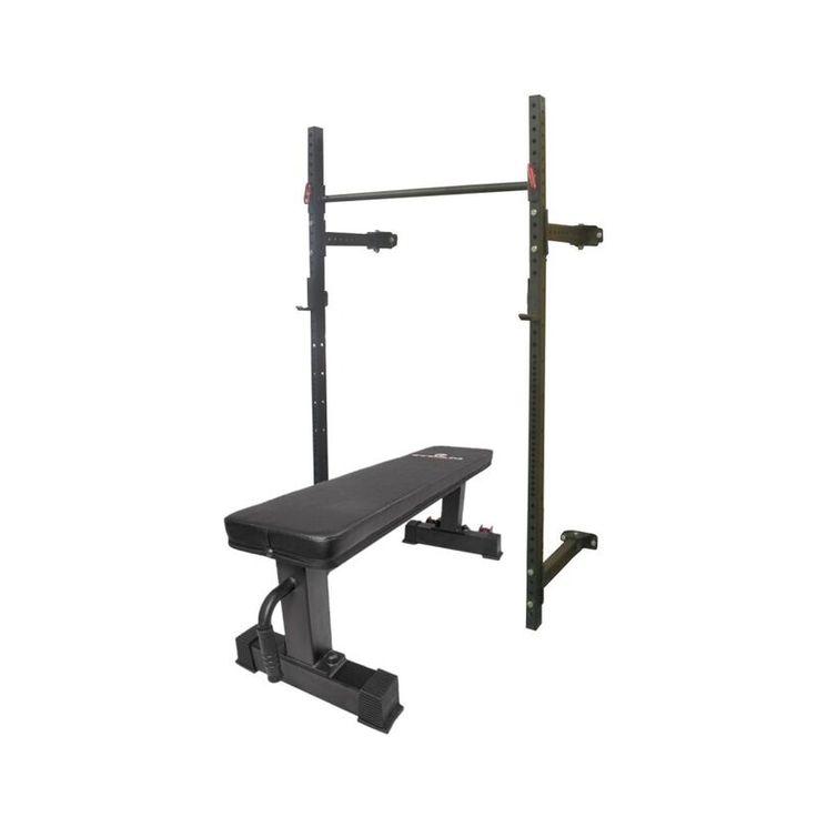 T3 series tall folding rack flat bench combo 215