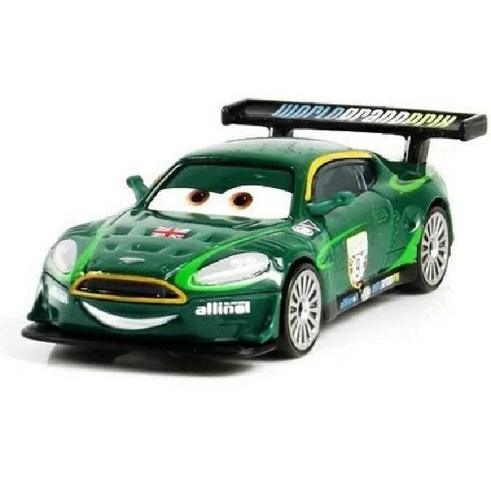 VÉHICULE CIRCUIT Disney Pixar - Cars Neon Racers - Nigel Gearsley