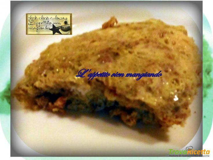 Frittata  con Salsicce e Tartufo Con le Arcobaleno Amc  #ricette #food #recipes