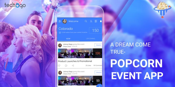 #Popcorn #event #app helps #attendees break the ice, as they can use the app to find common friends and interests and....to know more read this #blog ahead with @Techugo