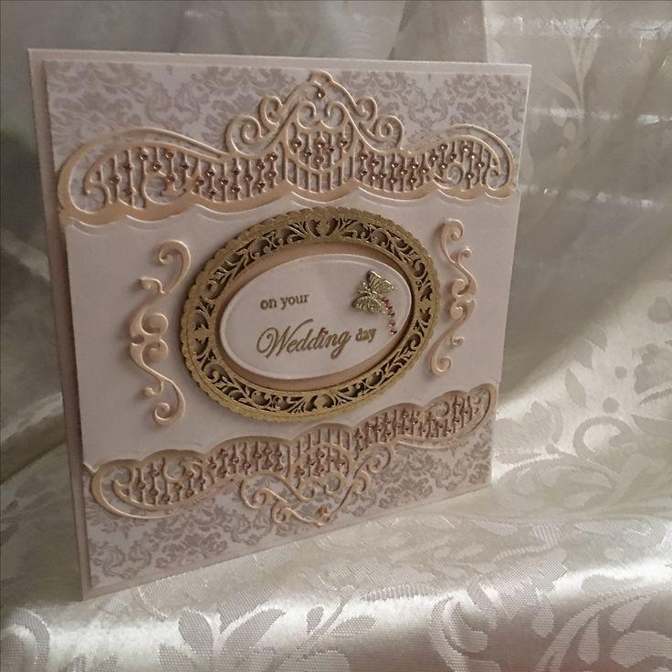 Golden Wedding Card Handmade card