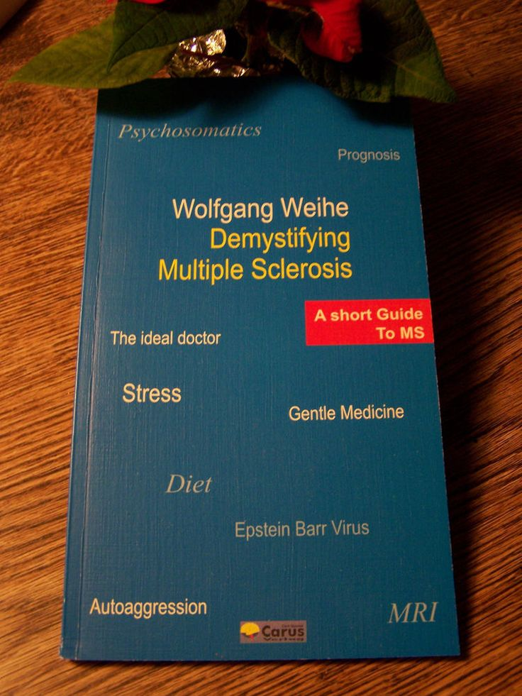 NEW ** W. WEIHE ** Demystifying MULTIPLE SCLEROSIS ** A short Guide to MS **