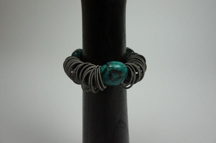 Lousje & Bean's new unique Canadian Made Jewelry line....Ruby.... Available here: http://www.lousjeandbean.ca/bracelets/ #canadianmade #funckybracelets #uniquejewerly #lousjeandbean #boutique #stretchybracelet #Arizonaturquoise