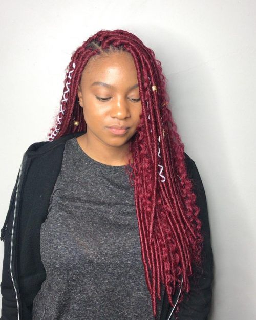 22 Hottest Faux Locs In 2019 Get Your Goddess On Faux