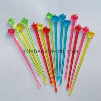 Jeweled Kebab Sticks http://littlebentoworld.com/shop/food-picks/jeweled-kebab-sticks/