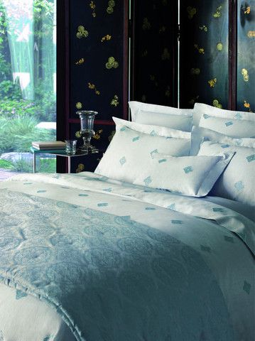 Silence duvet coverlet by yves delorme free shipping for Housse de couette yves delorme