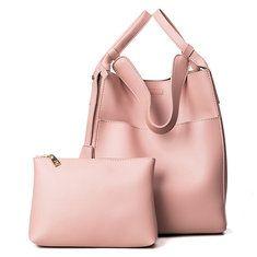 High-quality 4PCS PU Leather Stylish Handbag Phone Bag Wallet Card Holder - NewChic Mobile