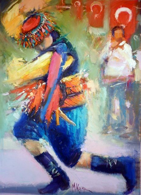 Mustafa Ali Kasap - Türkish Artist Painter - Mixed media on canvas - Tuval üzeri karışık teknik