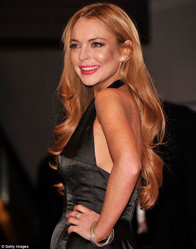 lindsay lohan, her hair is how i want my hair to be all the time
