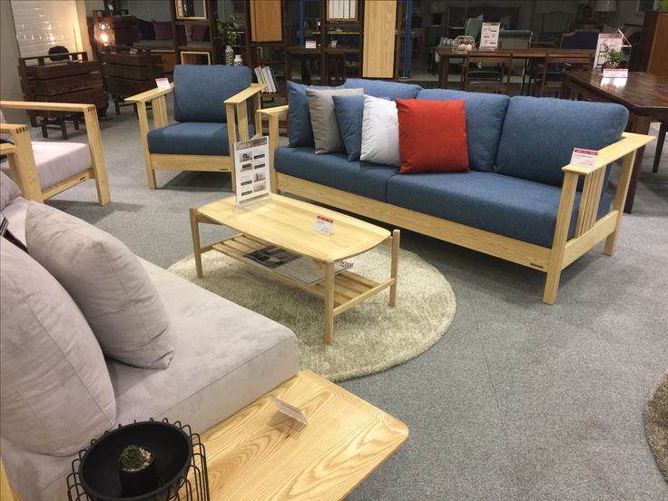 SOFA & LOW TABLE