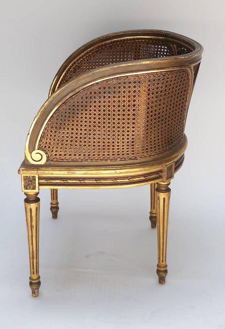 Antique cane chair styles - Louis Xvi Style Cane Chair