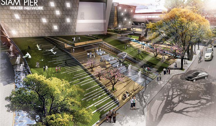 Event landscape stair landscape architecture for Outer space design landscape architects