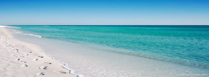 Footprints in the sand at Seaside, Florida ~ new beach picture for Facebook cover photo.